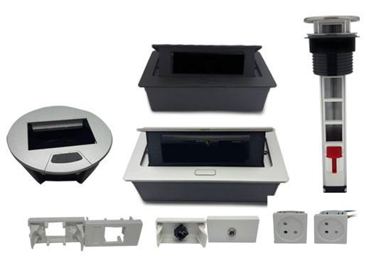 קופסאות מולטימדיה ומתאמים