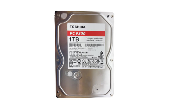 דיסק קשיח 1TB TOSHIBA