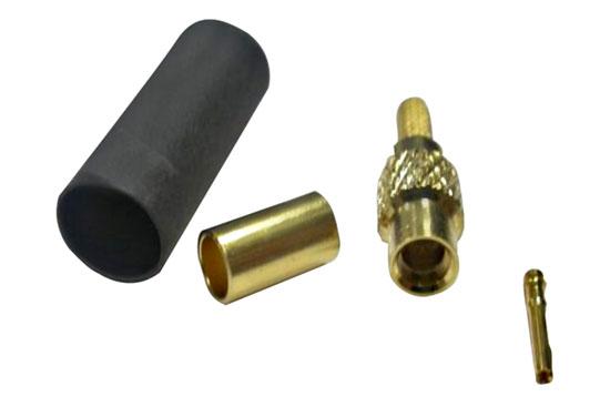 שקע לחיצה RG-179 - MMCX זהב