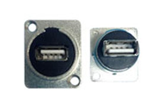 מסגרת XLR מעביר שקע שקע USB