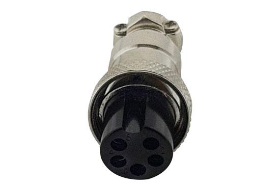 שקע מיקרופון 5P מתכת