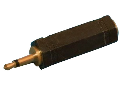 מעביר משקע PL55 מונו לתקע 3.5 מונו