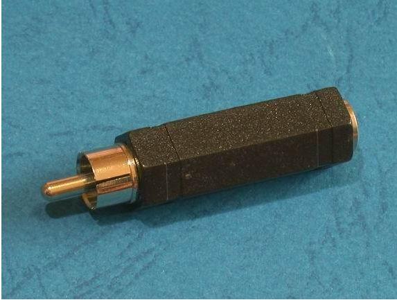 מעביר משקע PL55 לתקע RCA