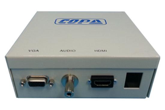 קופסת מולטימדיה HDMI+VGA + AUDIO + שקע קיסטון נוסף לבחירה