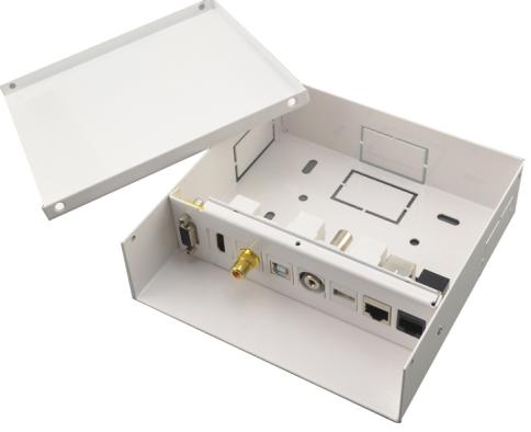 קופסת מולטימדיה USB A+B/HDMI/RCA/3.5/RJ-45/VGA