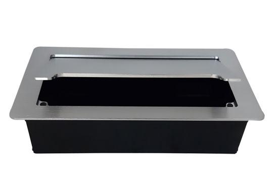 קופסת מולטימדיה לשולחן POP-UP סגירה איטית