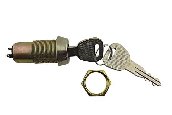 מנעול 3P מפתח ישר יוצא שני צדדים