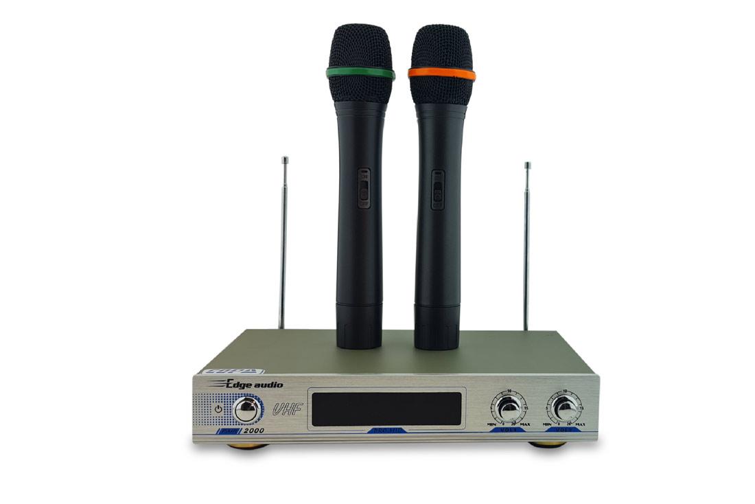 מיקרופון אלחוטי זוג ידני/מדונה PAIR 2000N