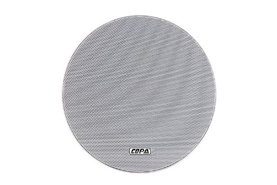 """רמקול COPA שקוע """"6.5 עם שנאי בהספק 6W עם גריל אלומיניום ללא מסגרת"""