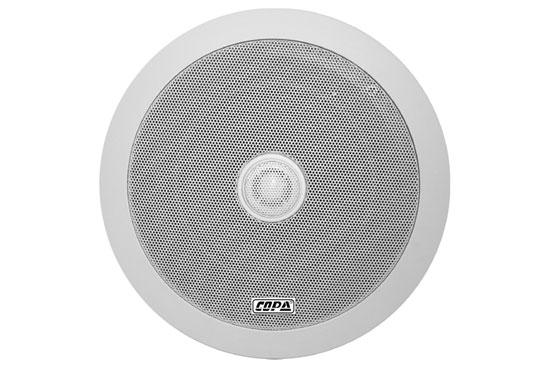"""רמקול COPA שקוע """"6.5 קואקסיאלי עם שנאי בהספק 20W עם סנפים 10/20"""