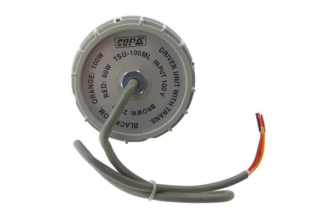 דריבר COPA עם שנאי בהספק 100W עם סנפים 25/50 איכותי