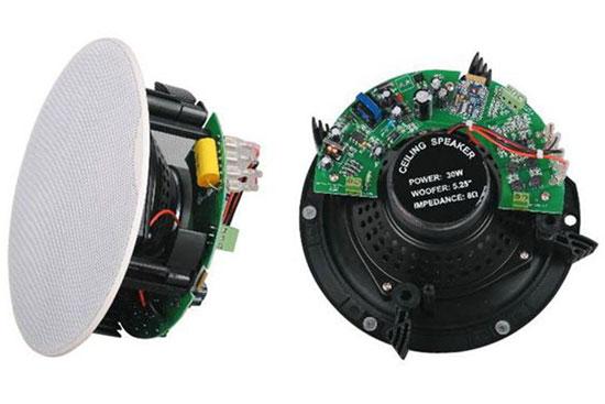 """רמקול COPA שקוע """"6 2X אקטיבי+פאסיבי, Bluetooth, Line Aux בהספק  2X30W"""