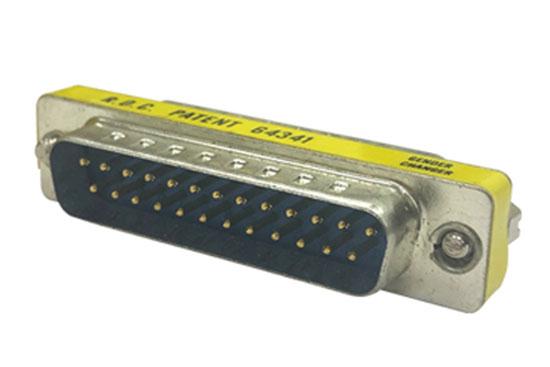 מעביר תקע D25 לתקע D25 מתכת קצר
