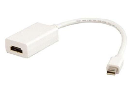 מעביר שקע HDMI לתקי מיני DP קצר לבן