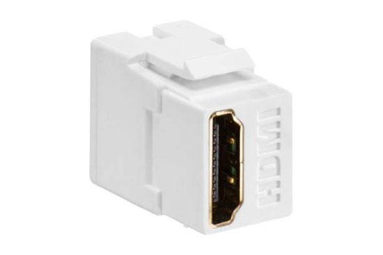 מעביר קיסטון שקע HDMI נקבה נקבה לשאסי