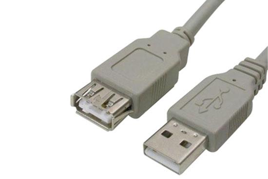 כבל מאריך USB באורך 0.3 מ´ A-A