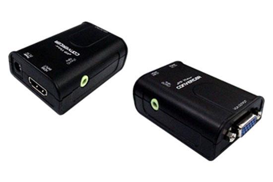 ממיר מ HDMI ל VGA דגם HVC11 כולל אודיו