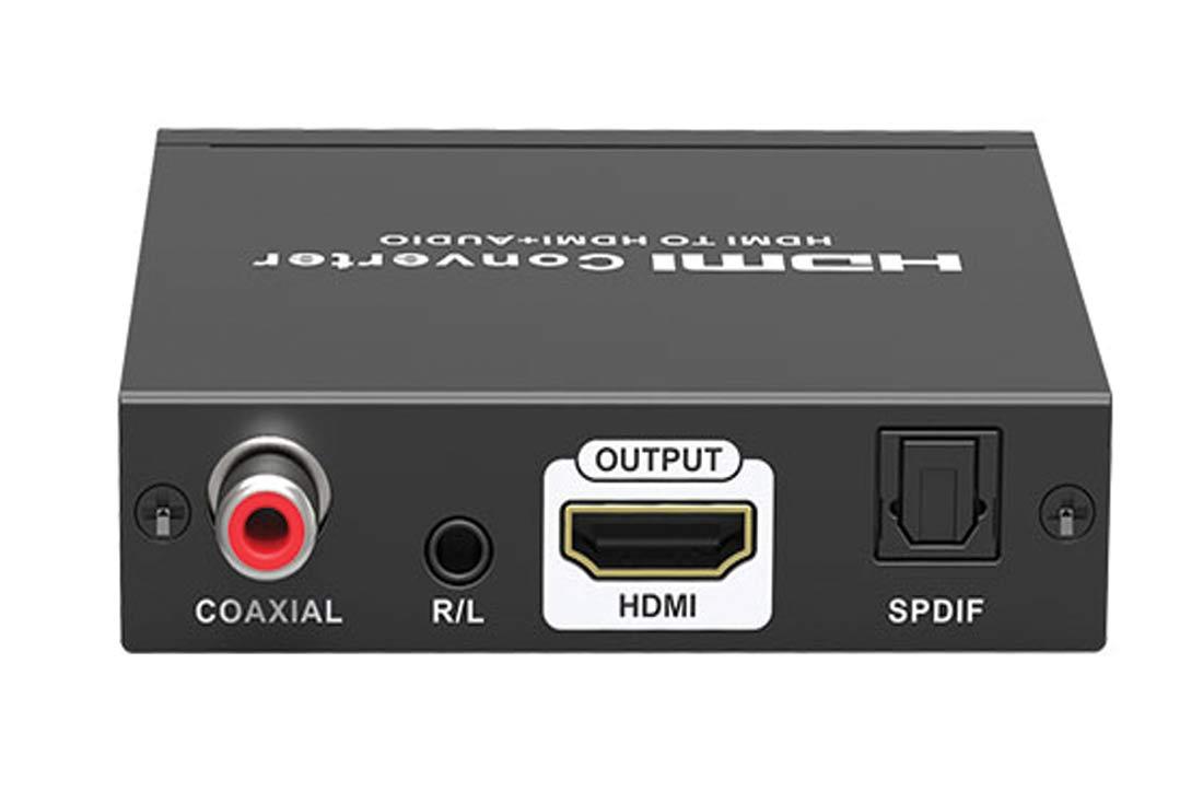 HDMI To HDMI + Audio תומך 4K