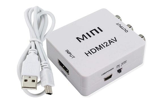 ממיר HDMI ל- AV/RCA