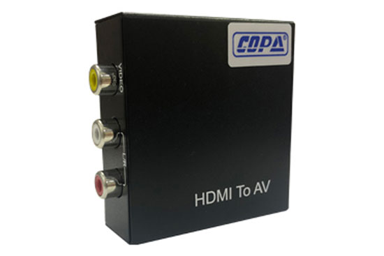 ממיר HDMI TO 3RCA VIDEO