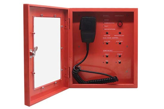 מערכת כריזה Fireman Microphone
