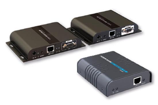 מרחיקי KVM ו-USB